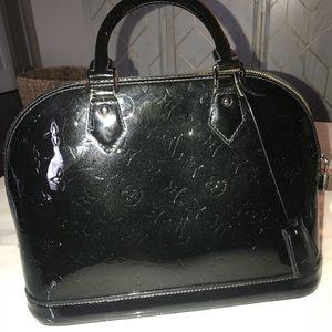Authentic Louis Vuitton Alma PM Noir